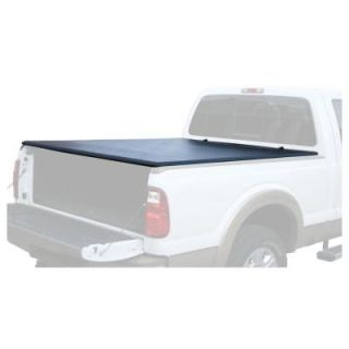 PRO SERIES 66 in. x 62.25 in. Vinyl Tonneau Truck Bed Cover for Ford F150 PS07900