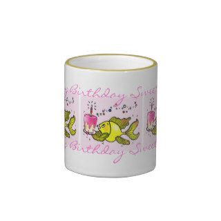 Happy Birthday Sweetheart   cute funny cartoon Mug
