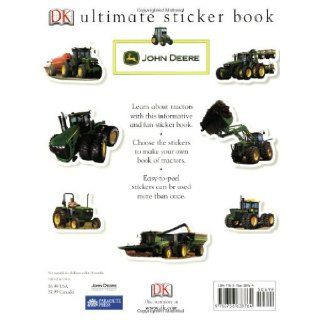 Ultimate Sticker Book John Deere Tractors (Ultimate Sticker Books) DK Publishing, Parachute Press 9780756638764 Books