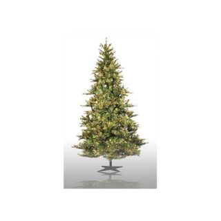 Vickerman Co. Country Pine 9 Green Slim Pine Artificial Christmas Tree with 950 Pre Lit Clear Lights with Stand Christmas Decor