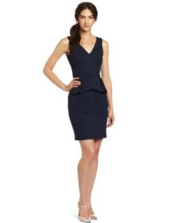 Trina Turk Women's Stewart Dress, Midnight, 12