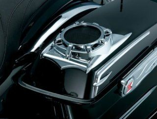 "Kuryakyn Harley Davidson Motorcycle 4 ohm Saddlebag Lid Speaker Pods with 5 �"" Speakers by Kuryakyn. Kuryakyn 868 Automotive"