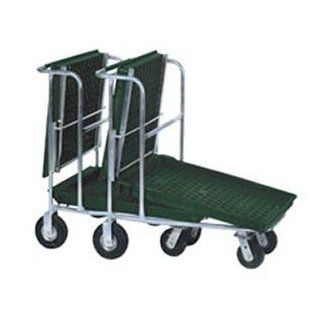 Win Holt PNC1HD / SP / RS Structural Foam Deck Nesting Customer Cart with Semi Pneumatic Wheels and   Hand Trucks