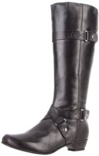 Fidji Women's E297 Knee High Boot,Black,41.5 EU/11 M US Shoes