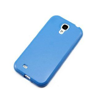 ChineOn Soft Glossy TPU Silicone Gel Cover Case Skin for Galaxy S4 S IV i9500(Blue) Cell Phones & Accessories