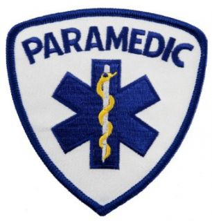 Paramedic EMT EMS Star Life Embroidered Patch Emergency Rescue Iron On Ambulance Novelty Baseball Caps Clothing