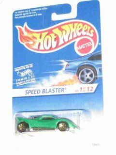 1995 Hot Wheels First Edition #1 Speed Blaster Green 7 Spoke Gold Wheels Variation 1995 New Models Mint #343