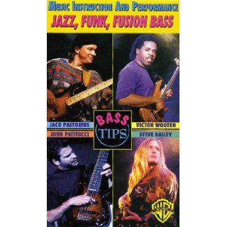 Jazz, Funk, Fusion Bass Music Instruction and Performance (Bass Guitar Tips) Jaco Pastorius, John Patitucci, Victor Wooten, Steve Bailey, Chuck Deardorf 9780769248462 Books