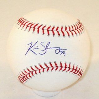 Kevin Slowey Florida Marlins Hand Signed / Autographed MLB Baseball COA at 's Sports Collectibles Store