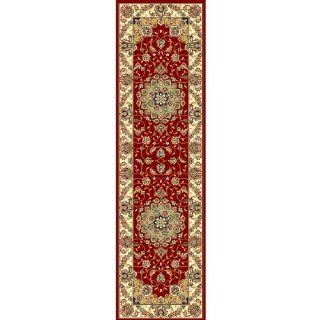 Safavieh LNH329C Lyndhurst Collection Red and Ivory Area Runner, 2 Feet 3 Inch by 22 Feet