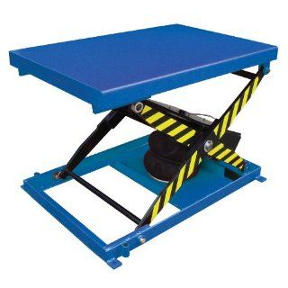 "Beacon Heavy Duty Air Bag Scissor Lift Table; Platform Size (Width x Length) 48"" x 32""; Uniform Capacity (lbs) 1000; Raised Height 33""; Lowered Height 9""; Net Wt (Pounds) 331; Model# BABLT 1000 Personnel Scissor Lifts Industrial"