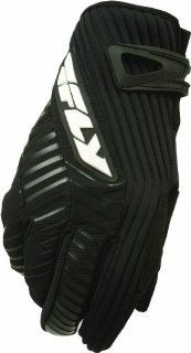 Fly Racing Title Gloves , Gender Mens/Unisex, Primary Color Black, Size 6, Distinct Name Black 367 03006 Automotive