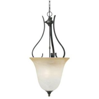 Thomas Lighting Prestige 3 Light Hanging Sable Bronze Chandelier DISCONTINUED SL841822