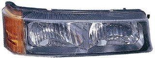 Depo 335 1604L UC Chevrolet Silverado/Avalanche Driver Side Replacement Parking/Signal Light Unit Automotive