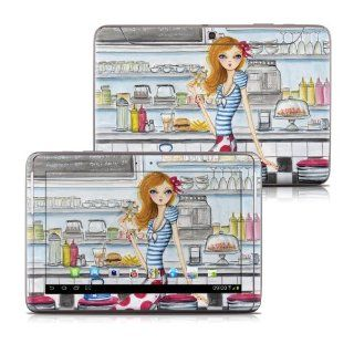 American Diner Design Protective Decal Skin Sticker for Samsung Galaxy Note 10.1 GT N8013 Tablet Computers & Accessories