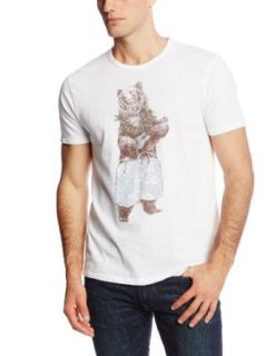 Lucky Brand Men's Hula Bear Graphic Tee at  Men�s Clothing store