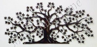 "50"" TREE OF LIFE Large Iron Wall Art   Indoor or Outdoor   Wall Sculptures"