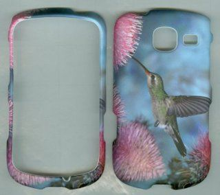 Samsung Freeform 4 SCH R390 R390X R390C (US Cellular) Comment 2 Case Cover Phone Snap on Cases Protector Faceplates Accessory CAMO HUMMING BIRD Cell Phones & Accessories