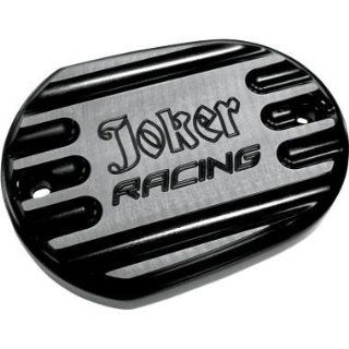 Joker Machine Front Master Cylinder Cover   Joker Racing   Black 10 381B Automotive