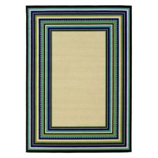 Caspian Roxy Area Rug   Cream (6.7x9.6)