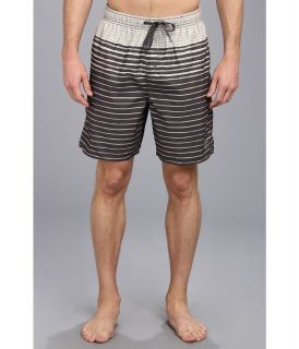 Quiksilver Waterman Zebro Volley Boardshort Mens Swimwear (Gray)