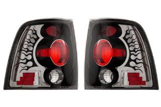 Ford Expedition Black Tail Lights   Fits Eddie Bauer Sport Utility 4 Door Automotive