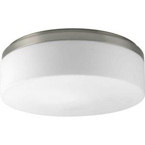 Progress Lighting Maier Collection 2 Light Brushed Nickel Flushmount P3911 09WB