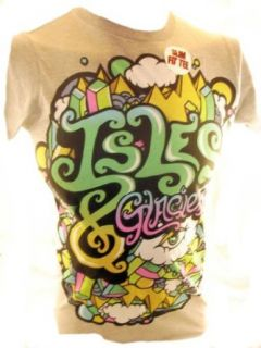 Isles and Glaciers (the band) Mens T Shirt   Colorful Eye Graphic (&) Novelty T Shirts Clothing