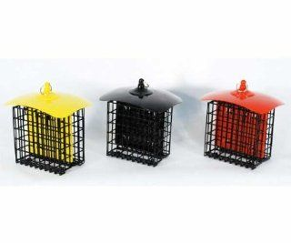 Double Suet Holder Metal Bird Feeder   2 Suet Capacity   3 pieces