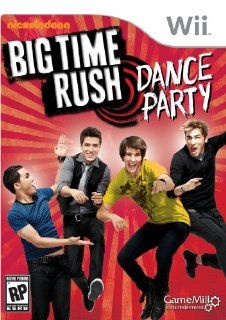 Big Time Rush Dance Party   Nintendo Wii Video Games