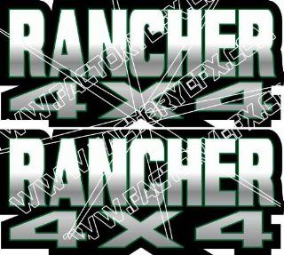 Honda Rancher Gas Tank Graphics Green 350 400 420 4x4  Other Products