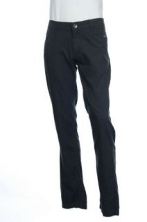 INC International Concepts Solid Black Flat Front Dress Pants, Size 40X30 at  Men�s Clothing store