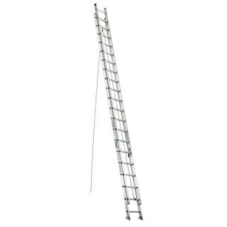 Werner 40 ft. Aluminum Extension Ladder with 250 lb. Load Capacity Type I Duty Rating D1340 2