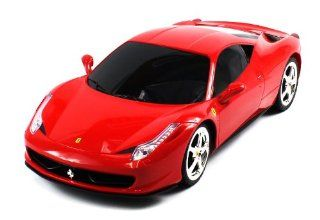 BIG Licensed Electric Full Function 112 Ferrari 458 Italia RTR RC Car RECHARGEABLE Toys & Games