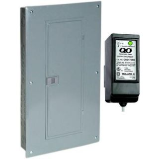 Square D by Schneider Electric QO 150 Amp 30 Space 30 Circuit Indoor Main Breaker Load Center with Cover with Surge Breaker SPD QO130M150CSB