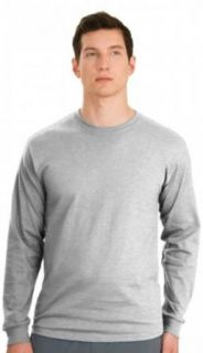 Big Mens Tagless 100% ComfortSoft� Cotton Long Sleeve T Shirt by Hanes� (Big & Tall and Regular Size at  Men�s Clothing store