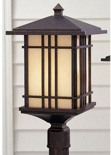 Murray Feiss Prairie House Outdoor Post Lighting Fixture   Craftsman OL1808WP  Outdoor Decor  Patio, Lawn & Garden