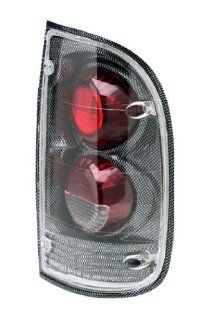 Toyota Tacoma 1995 2004 Tail Lamps, Crystal Eyes Carbon Fiber 2 & 4WD Automotive