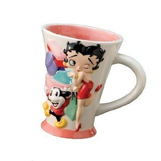 Betty Boop Mug Girls Just Wanna Have Funds Sculpted Style Kitchen & Dining