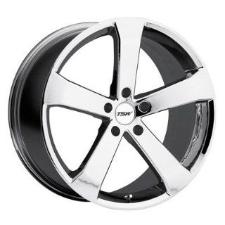 20 Inch 20x8.5 TSW wheels VORTEX Chrome wheels rims Automotive