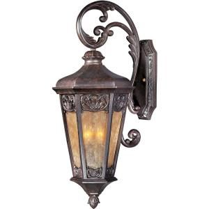 Filament Design Infinite Wall Mount 3 Light Outdoor Bronze Incandescent Lantern HD MA43176848