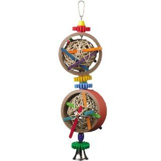 Super Bird Creations Atomic Blast 16 x 5in Large Bird Toy  Pet Toys