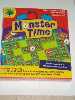 MONSTER TIME BY TEACHING TREE   GRADES 1 2   EDUCATIONAL GAME Toys & Games