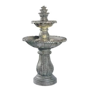 Kenroy Home Venetian Lighted Outdoor Fountain 02254