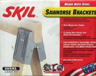 Heavy Duty Steel Skil Sawhorse Bracket   Spark Free Tool Sets