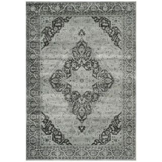 Safavieh Vintage Light Blue/ Multi Viscose Rug (10 X 14)