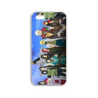 Diy Iphone 5/5S Case Cover Anime Series naruto shippuden x Anime Series wallpaper of Lover Cellphone Shell For Women Cell Phones & Accessories