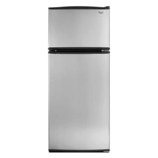 Whirlpool 17.6 cu. ft. Top Freezer Refrigerator in Stainless Steel W8RXNGMBS