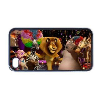 Madagascar Movie Cartoon Cool Unique Design iphone 4 4S Cases Cover Vol2 Cell Phones & Accessories