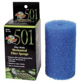 Zoo Med Foam Block for 501 Turtle Filter  Aquarium Filter Accessories